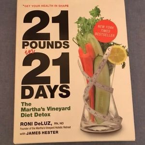 Accessories - 21 Pounds In 21 Days By Roni DeLuz